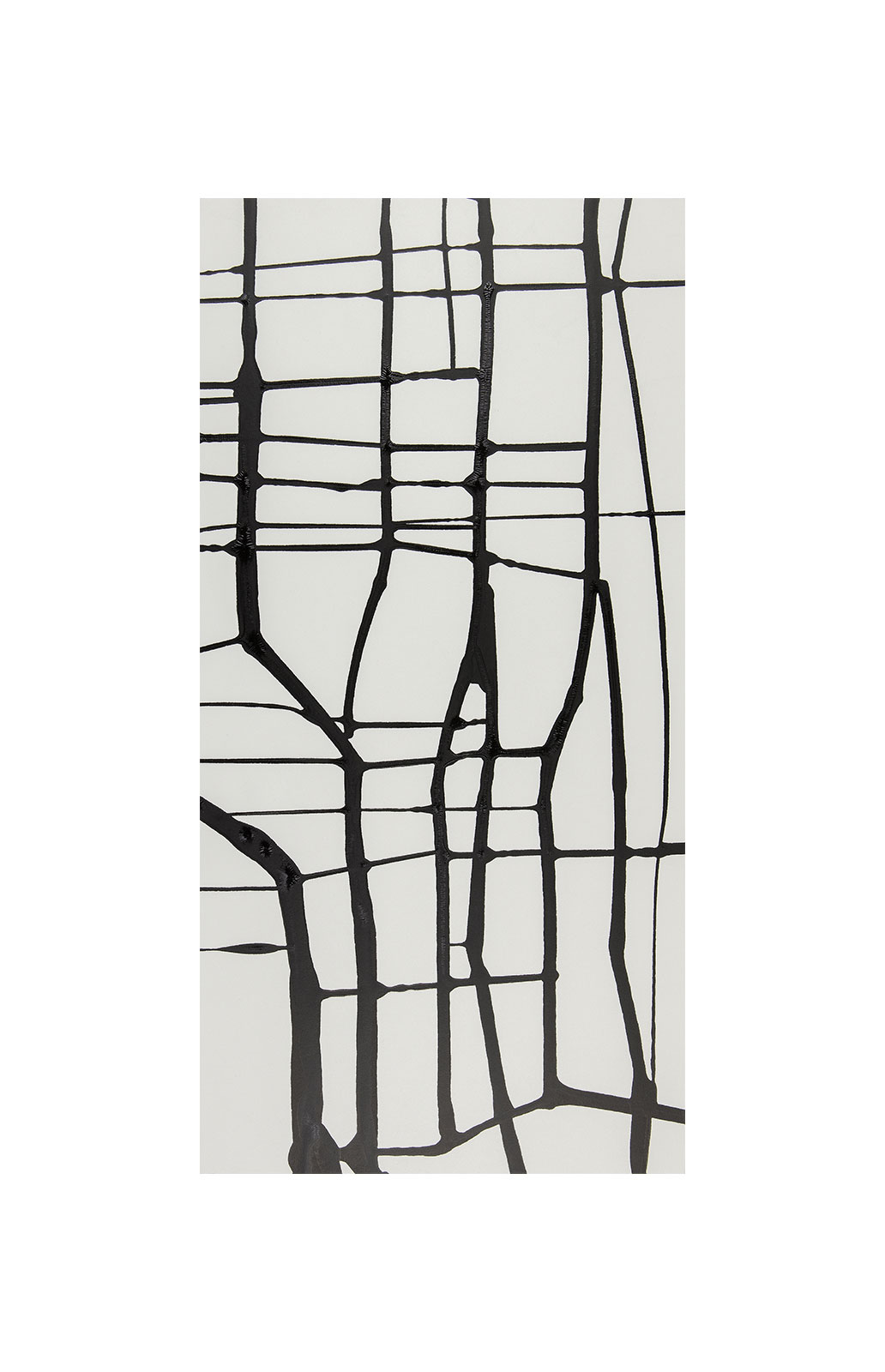 Ink 2.1.1, indian ink on paper, black and white artwork, triptych, jf escande, contemporary art