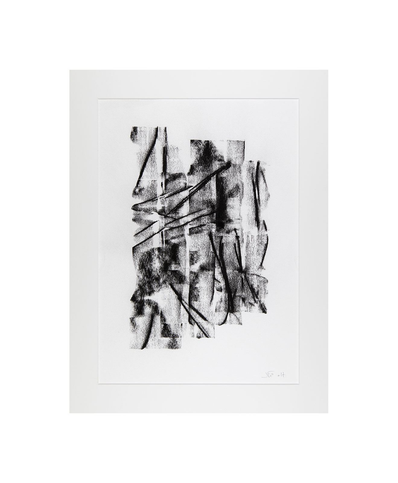 Cha 1.12, Charcoal on paper, black and white artwork, drawing, jf escande, contemporary art