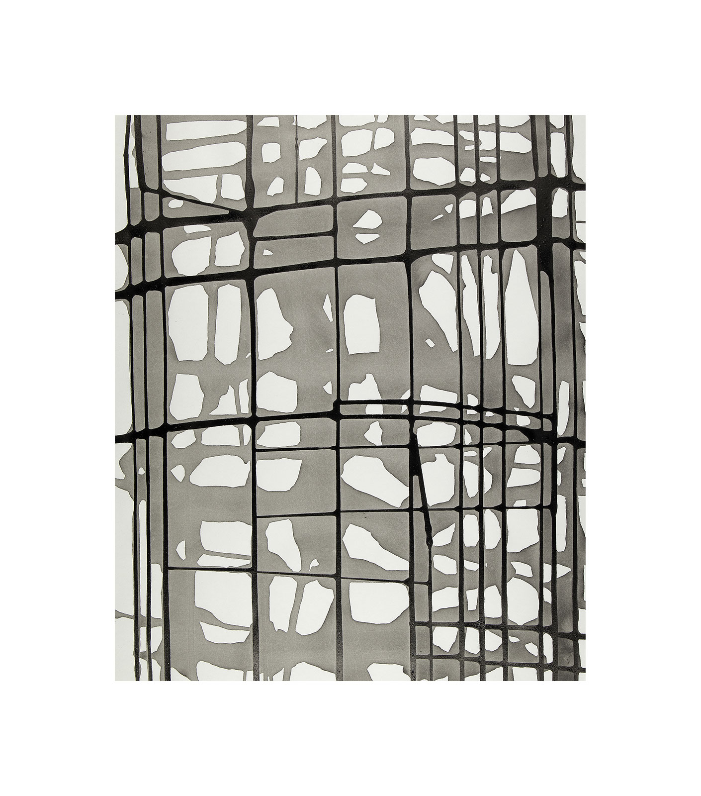Ink 3.4, indian ink on paper, wash drawing, black and white artwork, jf escande, contemporary art